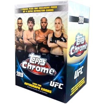 2019 Topps UFC Chrome 7-Pack Blaster Box