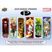 Marvel Premier Trading Cards Box (Upper Deck 2019) (Presell)