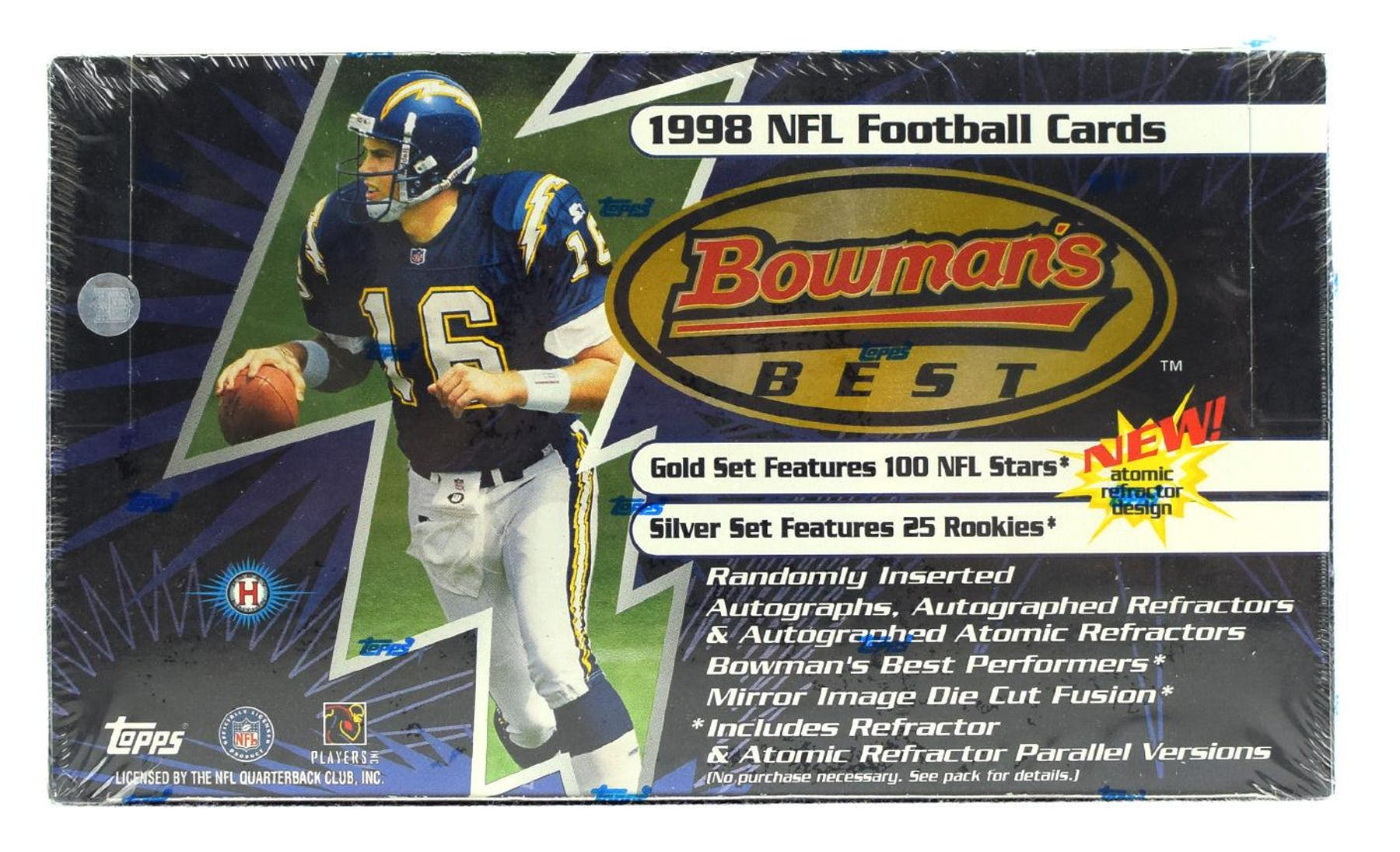 1998 Bowmans Best Football Hobby Box Da Card World