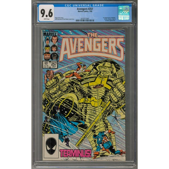 Avengers #257 CGC 9.6 AVEN2 - (Hit Parade Inventory)