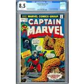 Captain Marvel #26 CGC 8.5 (W) *2019714002*