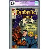 Fantastic Four #45 CGC 6.0 (W) Restored C-1 *2019714010*