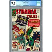 Strange Tales #123 CGC 9.2 (W) *2019715017*