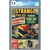 Strange Tales #126 CGC 7.5 (W) *2019715019*