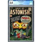 Tales to Astonish #21 CGC 3.0 (C-OW) *2019716005*