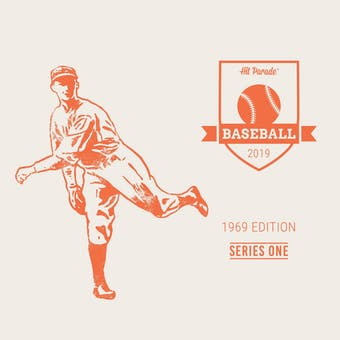 2019 Hit Parade Baseball 1969 Edition - Series 1 - 10 Box Hobby Case /160 - Reggie Jackson-Mantle-Ryan-PSA