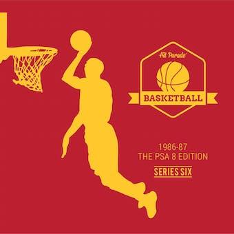 2018/19 Hit Parade Basketball 1986-87 The PSA 8 Edition - Series 7 - Hobby Box /132