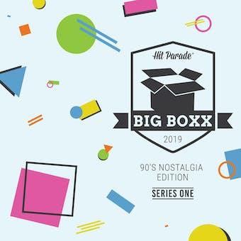2019 Hit Parade BIG BOXX 90's Nostalgia Edition - Series 1 - Adam Sandler, Kevin Conroy Autos!