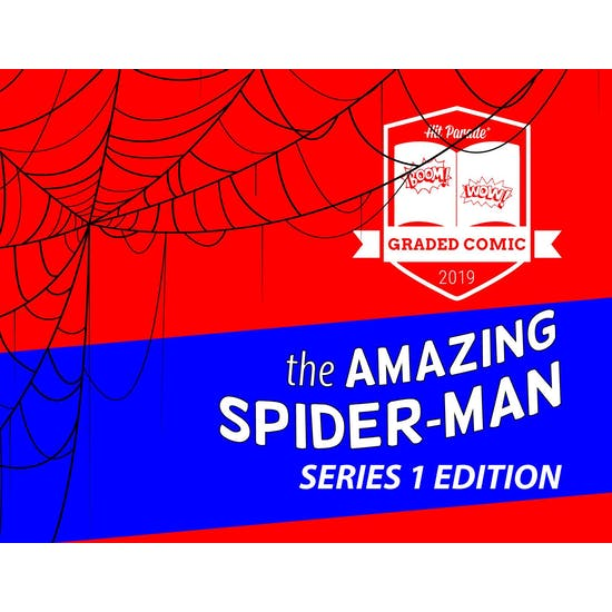 2019 Hit Parade The Amazing Spider-Man Graded Comic Edition Hobby Box - Series 1 - 1st Mysterio CGC 6.0!!