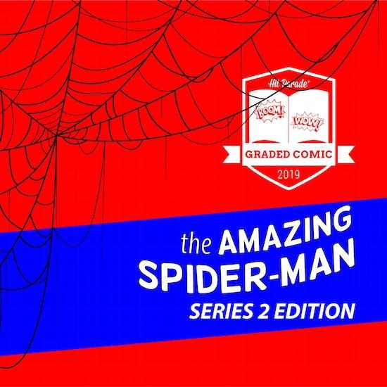 2019 Hit Parade The Amazing Spider-Man Graded Comic Edition 1-Box- DACW Live 5 Spot Break #3