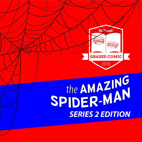 2019 Hit Parade The Amazing Spider-Man Graded Comic Edition Hobby Box - Series 2 - 1st Morbius!