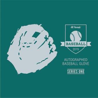 2019 Hit Parade Auto Baseball Glove Series 1- 1-Box- DACW Live 6 Spot Random Division Break #9