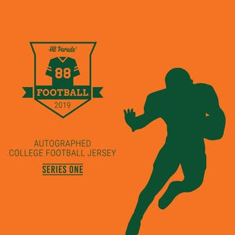 2019 Hit Parade Auto College Football Jersey 1-Box Series 1- DACW Live 6 Spot Random Break #4