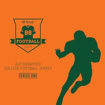 2019 Hit Parade Auto College Football Jersey 1-Box Series 1- DACW Live 6 Spot Random Break #3