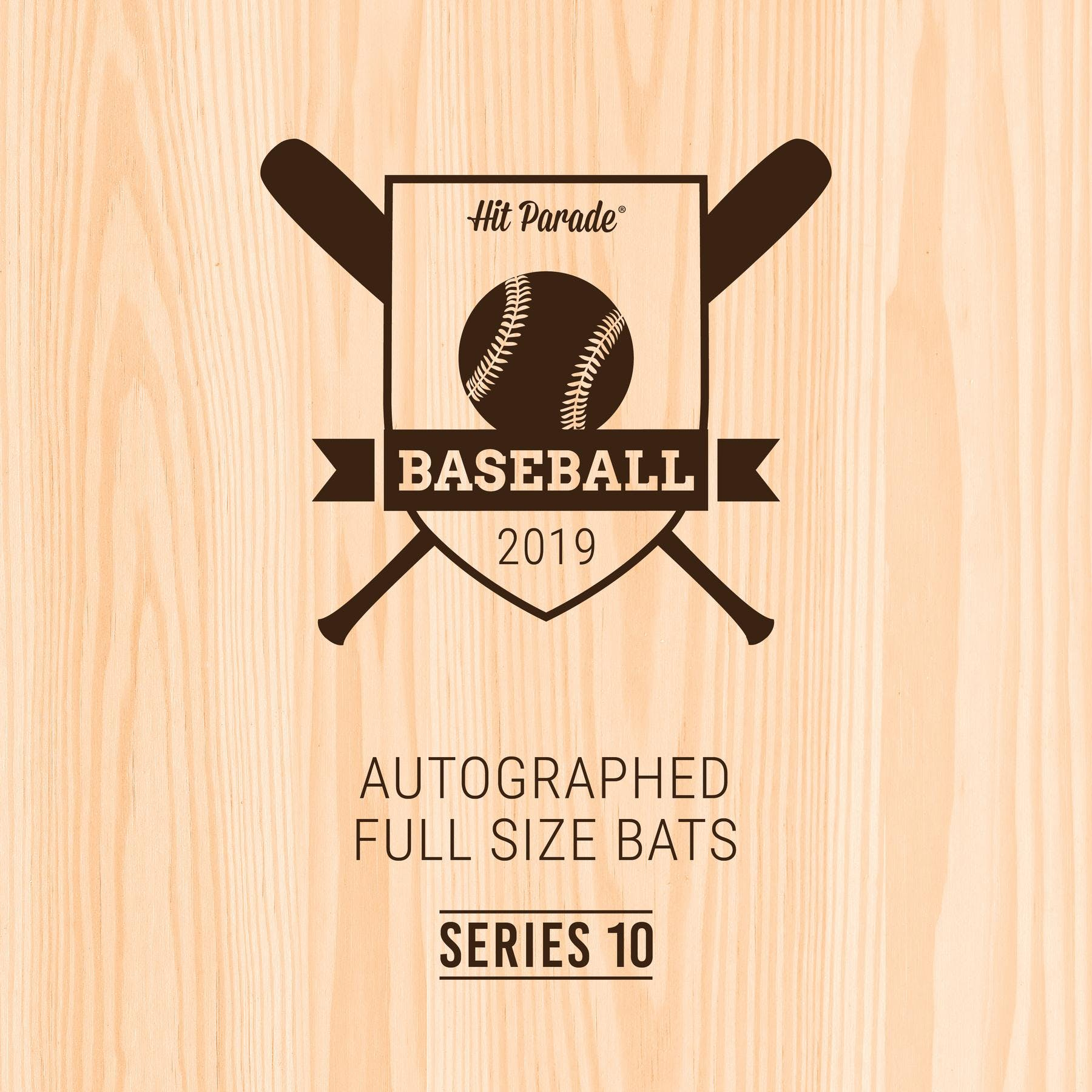 2019 Hit Parade Autographed Baseball Bat Hobby Box - Series 10 - Derek  Jeter & Peter Alonso!!