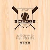 2019 Hit Parade Autographed Baseball Bat Hobby Box - Series 13 - Derek Jeter & Vladimir Guerrero Jr.!!!