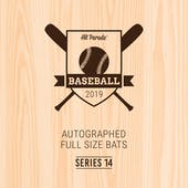 2019 Hit Parade Autographed Baseball Bat 1-Box Series 14- DACW Live 6 Spot Random Division Break #1
