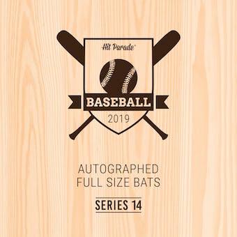 2019 Hit Parade Autographed Baseball Bat 1-Box Series 14- DACW Live 6 Spot Random Division Break #3
