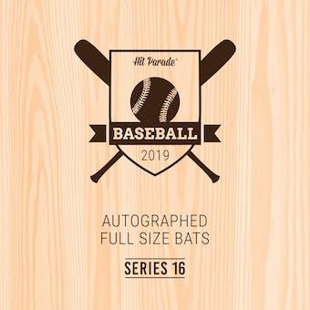 2019 Hit Parade Autographed Baseball Bat Hobby Box - Series 16 - Albert Pujols & Manny Machado GAME MODEL!!!
