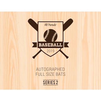 2019 Hit Parade Autographed Baseball Bat 1-Box Series 2- DACW Live 6 Spot Random Division Break #1