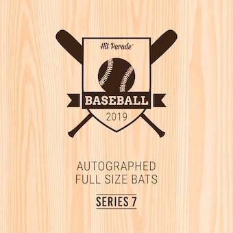 2019 Hit Parade Autographed Baseball Bat 1-Box Series 7- DACW Live 6 Spot Random Division Break #3