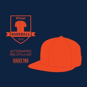 2019 Hit Parade Autographed Baseball Hat Hobby Box - Series 2 - MICHAEL JORDAN & Barry Bonds!!!