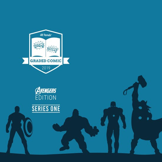 2019 Hit Parade Avengers Graded Comic Ed 1-Box Ser 1- DACW Live 5 Spot Break #4