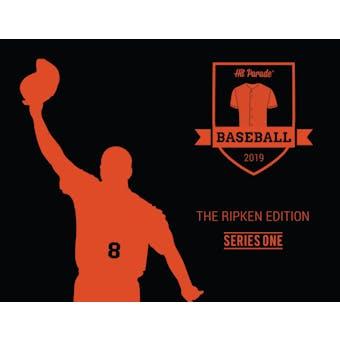 2019 Hit Parade Baseball The Ripken Edition - Series 1 - Hobby Box /100 PSA 10 Rookie Card!