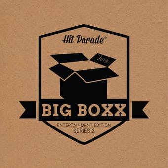 2019 Hit Parade BIG BOXX Entertainment Autographed Hobby Box - Series 2 - Sylvester Stallone, Britney Spears!