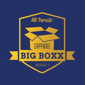 2019 Hit Parade Autographed BIG BOXX Sapphire Edition Hobby Box - Series 1 - Ted Williams Exclusive BOXX!!!!!