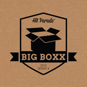2019 Hit Parade Autographed BIG BOXX Hobby Box - Series 4 - McGregor, Spieth, McDavid, & Warner!!!