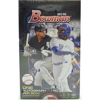 2019 Bowman Baseball 4 Jumbo Box- DACW Live 30 Spot Pick Your Team Break #4