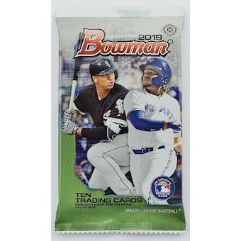 2019 Bowman Baseball Hobby Pack