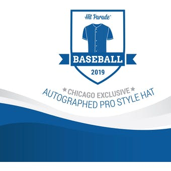 2019 Hit Parade Autographed Baseball Hat Hobby Box - CHICAGO SHOW EXCLUSIVE - Cal Ripken Jr. & Kris Bryant!