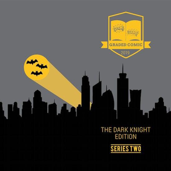 2019 Hit Parade The Dark Knight Graded Comic Edition Hobby Box - Series 2 - 1st Mister Zero! (Mr. Freeze)