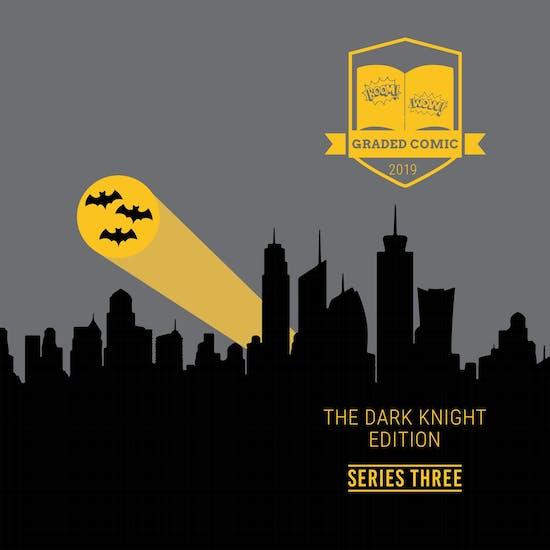 2019 Hit Parade The Dark Knight Graded Comic Ed 1-Box Ser 3- DACW Live 5 Spot Break #7