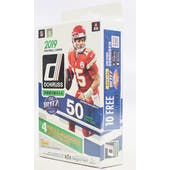 2019 Panini Donruss Football 50ct Hanger Box (White)