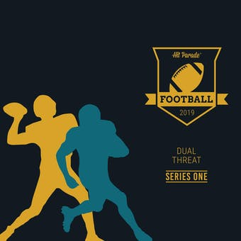 2019 Hit Parade Auto Dual Threat 1-Box Series 1- DACW Live 8 Spot Random Division Break #2