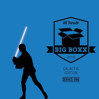 2019 Hit Parade Star Wars BIG BOXX Galactic Edition - Series 1 - Mark Hamill & Peter Mayhew Autos!