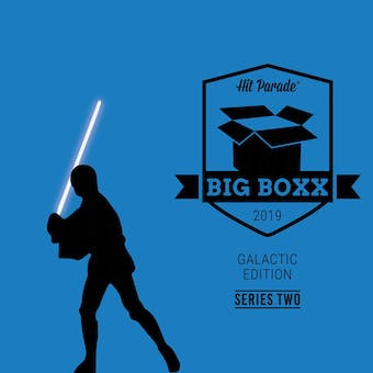 2019 Hit Parade Star Wars BIG BOXX Galactic Edition - Series 2 - Harrison Ford, Ian Mcdiarmid Autos!!