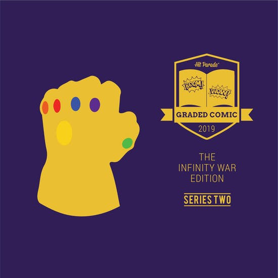 2019 Hit Parade Infinity War Graded Comic Edition Hobby Box - Series 2 - 1st Wasp, Carol Danvers & Thanos!!