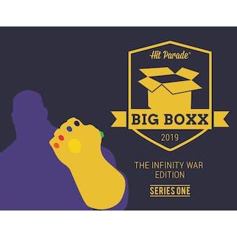 2019 Hit Parade BIG BOXX Infinity War Ed Series 1- 2-Box- Dacw Live 11 Spot Random Superhero Break #1