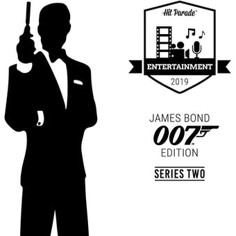 2019 Hit Parade James Bond 007 Edition - Series 2 - Hobby Box /50 Moore - Craig - Brosnan