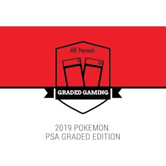 2019 Hit Parade Pokemon PSA Edition Series 1 Hobby 10-Box Case Alakazam H1/H32 Suicune H25/H32