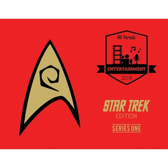 2019 Hit Parade Star Trek Limited Edition - Series 1 - Hobby Box /50 Shatner-Nimoy-Stewart