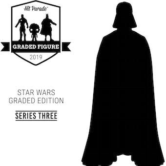 2019 Hit Parade Star Wars Graded Figure Edition - Series 3 - AFA C-3PO Droids, Amanaman, EWOKS!