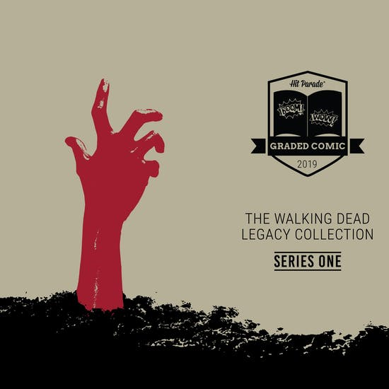 2019 Hit Parade The Walking Dead Legacy Collection Graded Comic 1-Box Ser 1- DACW Live 5 Spot Break #4