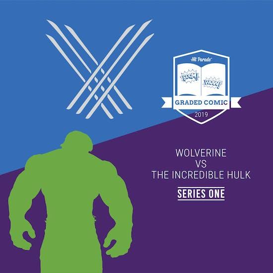 2019 Hit Parade Wolverine VS The Incredible Hulk Graded Comic Edition Hobby Box - Series 1 - HULK #181!