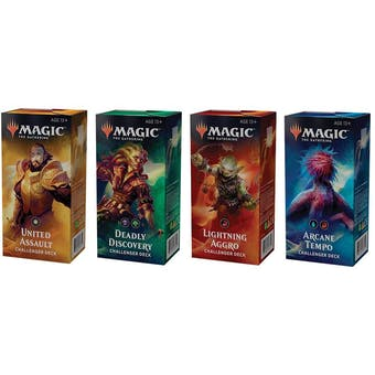 Magic the Gathering 2019 Challenger Deck Set of 4