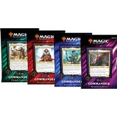 Magic the Gathering Commander 2019 4-Box Case